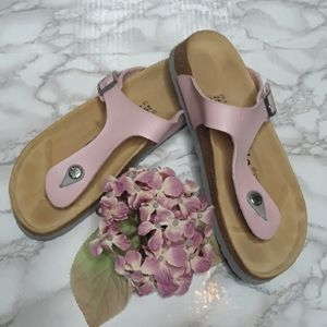 Betula Birkenstock light pink Gizeh sandals 39